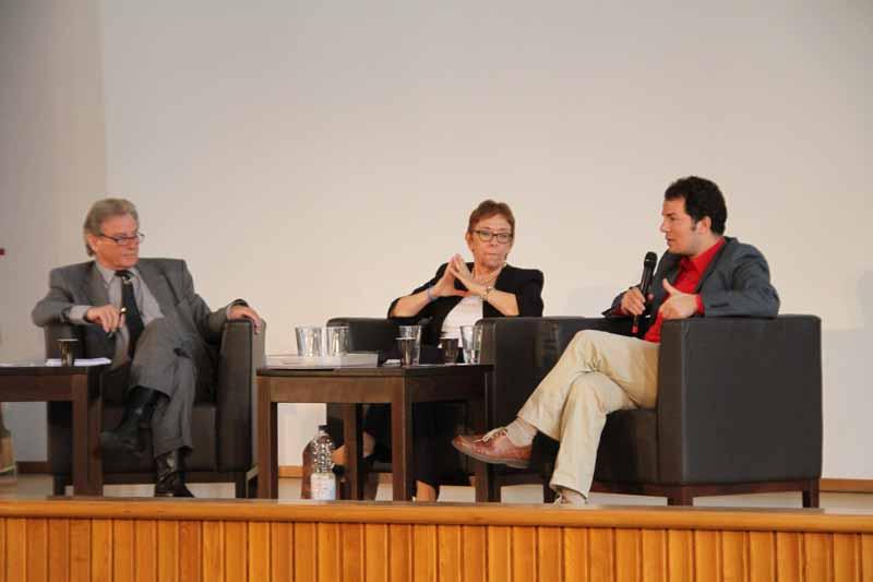 Podium: Volker Panzer, Lale Akgün, Hamed Abdel-Samad